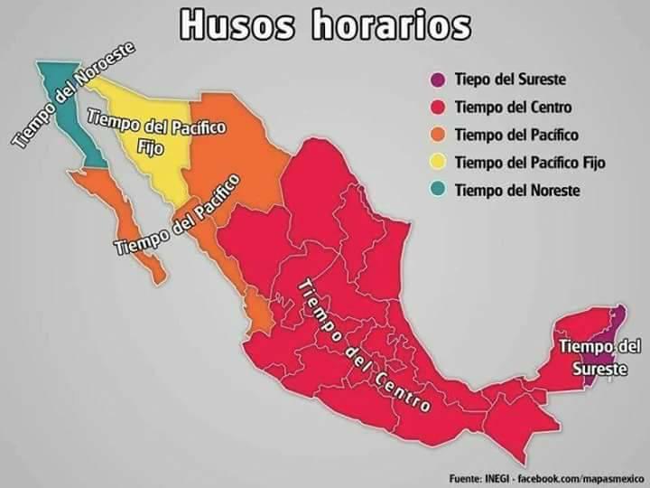 horarios en México