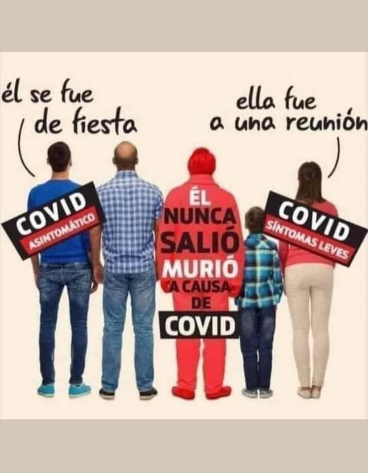 los covi idiotas en Tamaulipas.